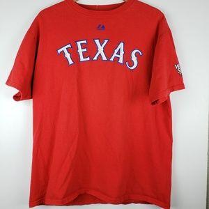 Texas Rangers Josh Hamilton World Series Shirt